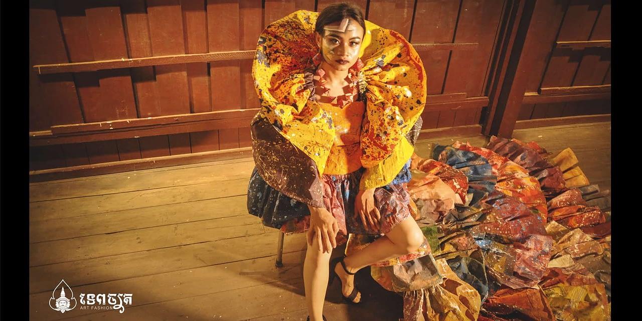The Playful Recycled Fashion Art of Hin Koemyean