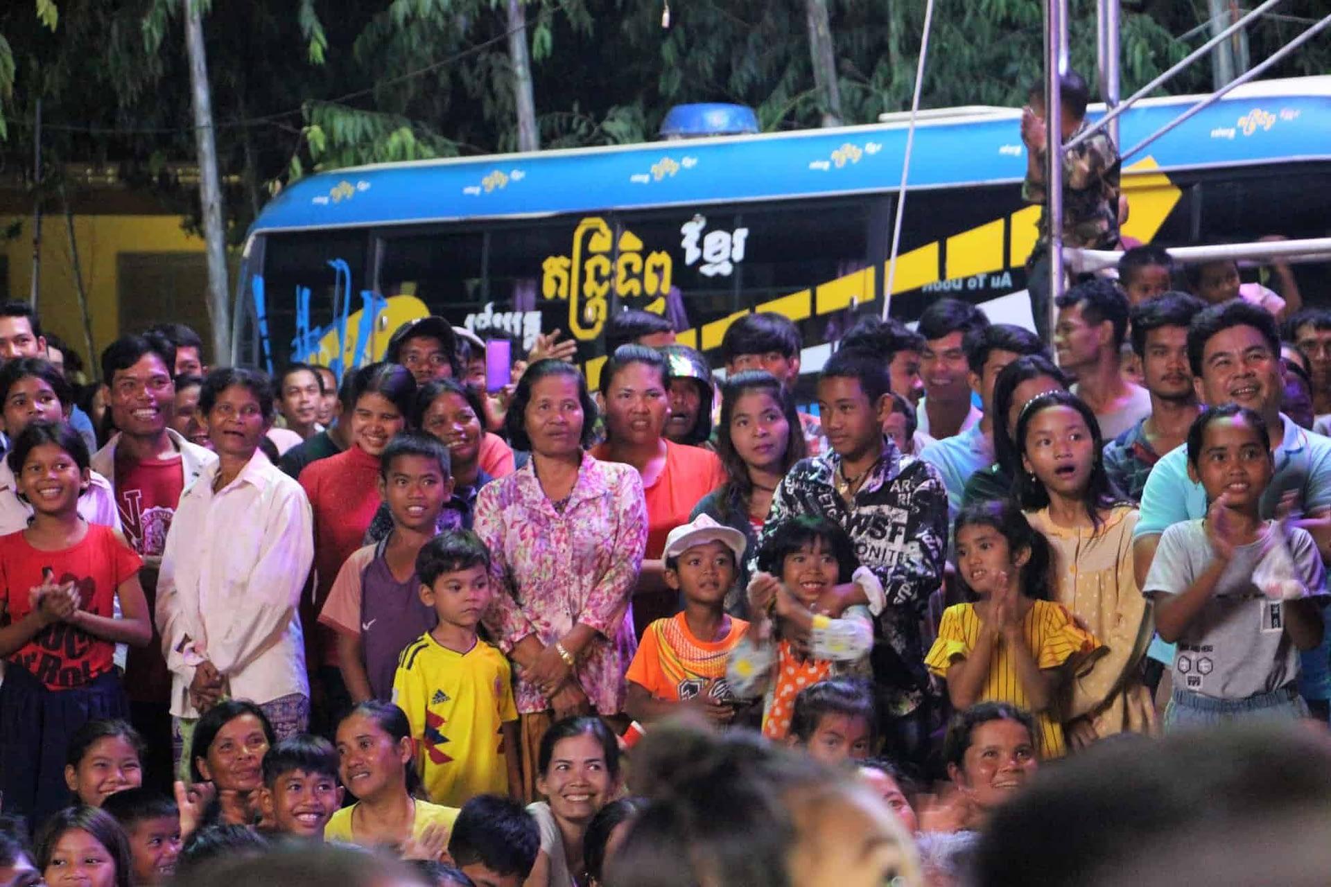 Khmer Magic Music Bus - Cambodian Living Arts
