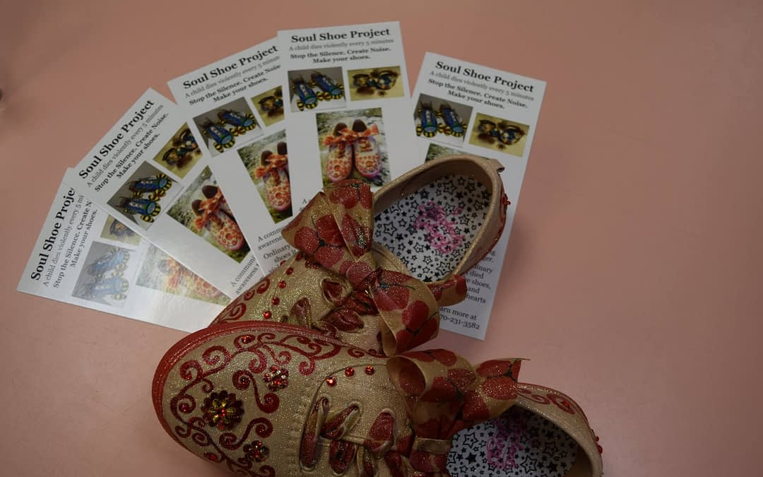 Brochures for the Soul Shoes Project