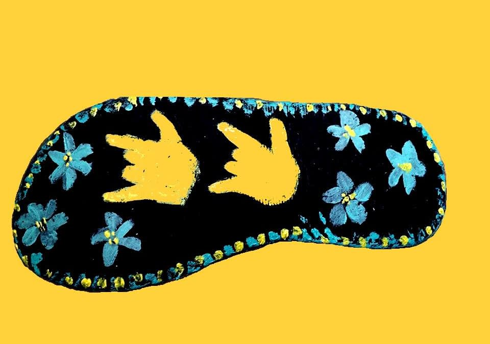 Lea Ann Gardner's Bedazzled Flip Flops